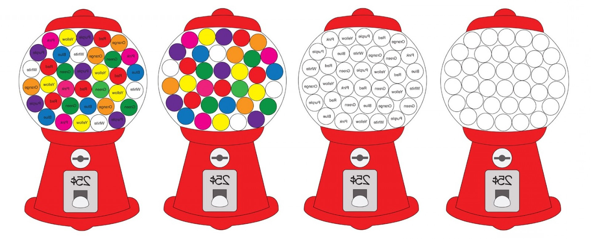 hight resolution of top gumball clip art black and white design