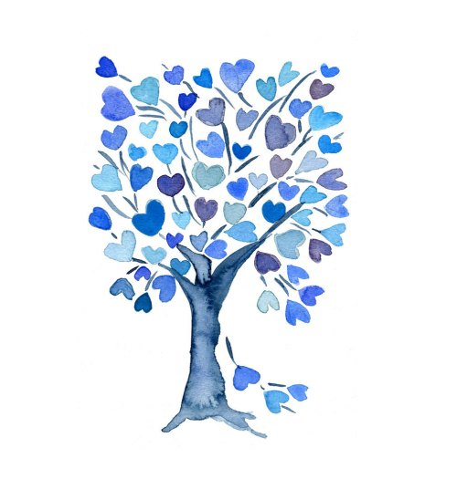 small resolution of 57 blue hearts clip art
