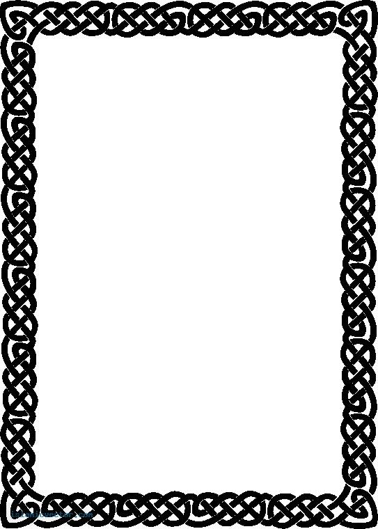 Islamic Border Design