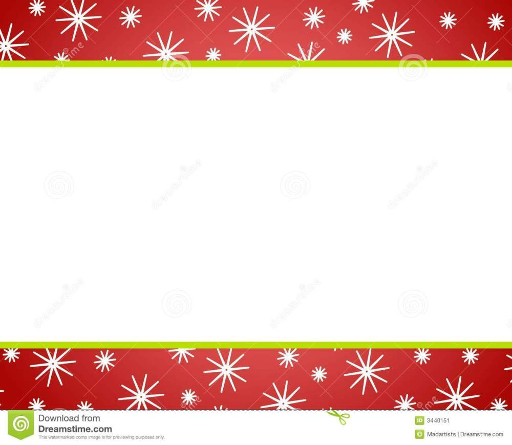 medium resolution of red red christmas border clipart