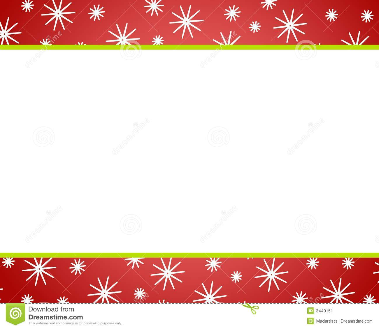 hight resolution of red red christmas border clipart