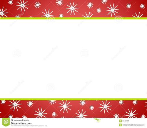 small resolution of red red christmas border clipart