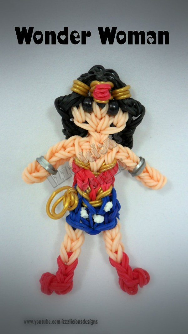Rainbow Loom Wonder Woman