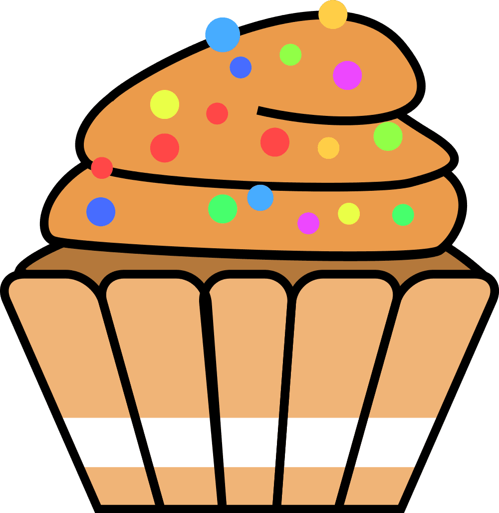 hight resolution of desserts clipart