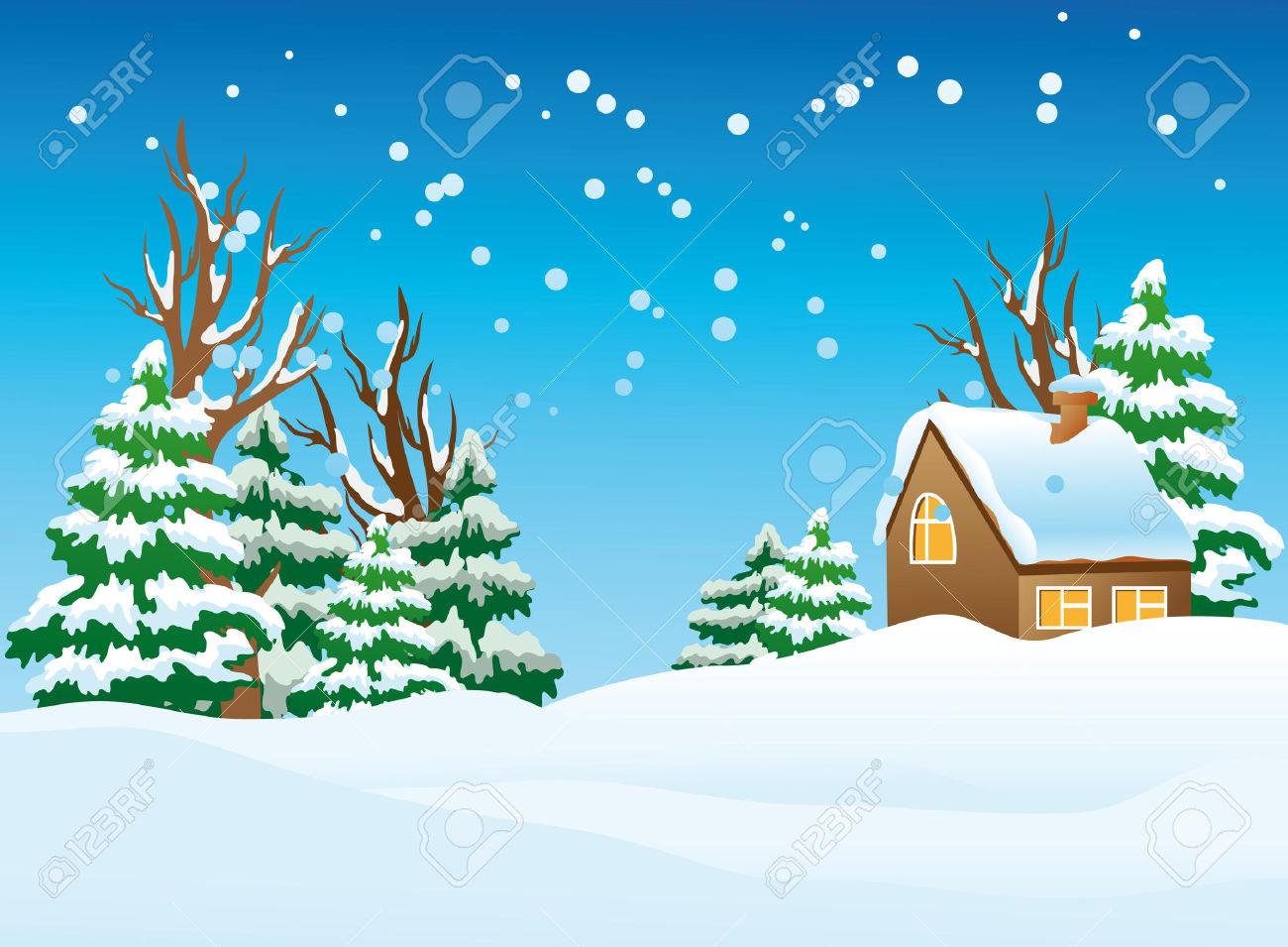 hight resolution of 60 winter landscape clip art