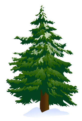 Royalty-Free (RF) Pine Tree Clipart, Illustrations, Vector Graphics #1
