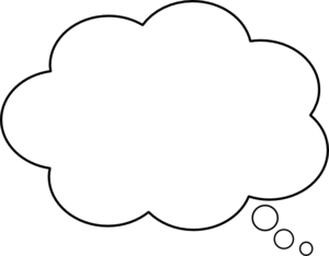 Free Thinking Bubble Cliparts, Download Free Clip Art