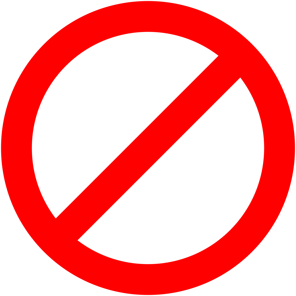 medium resolution of no signs downloadable clipart