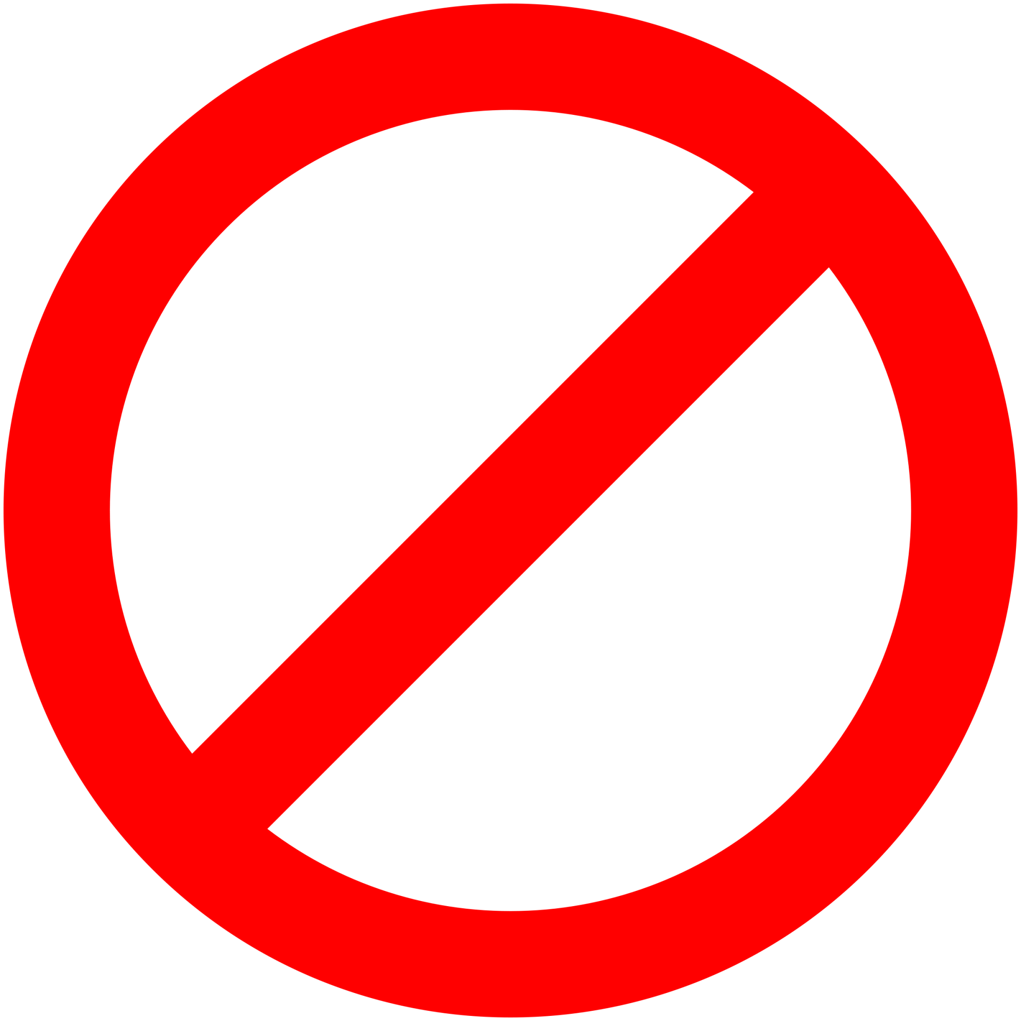 hight resolution of no signs downloadable clipart