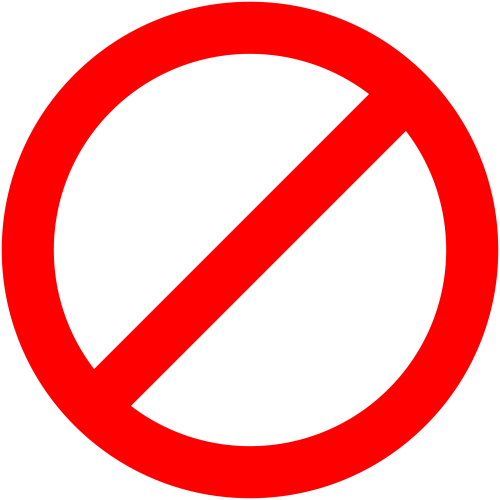 small resolution of no signs downloadable clipart