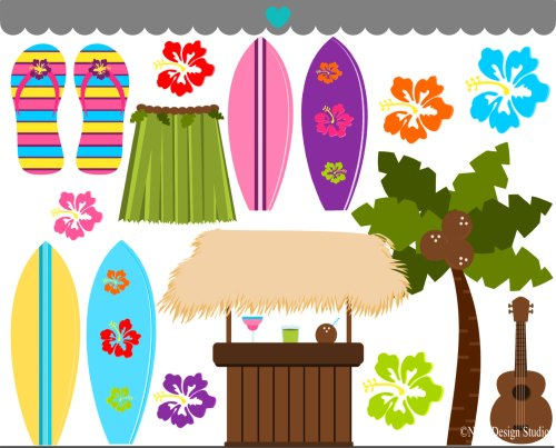 small resolution of beautiful hawaiian cliparts 2697236 license personal use