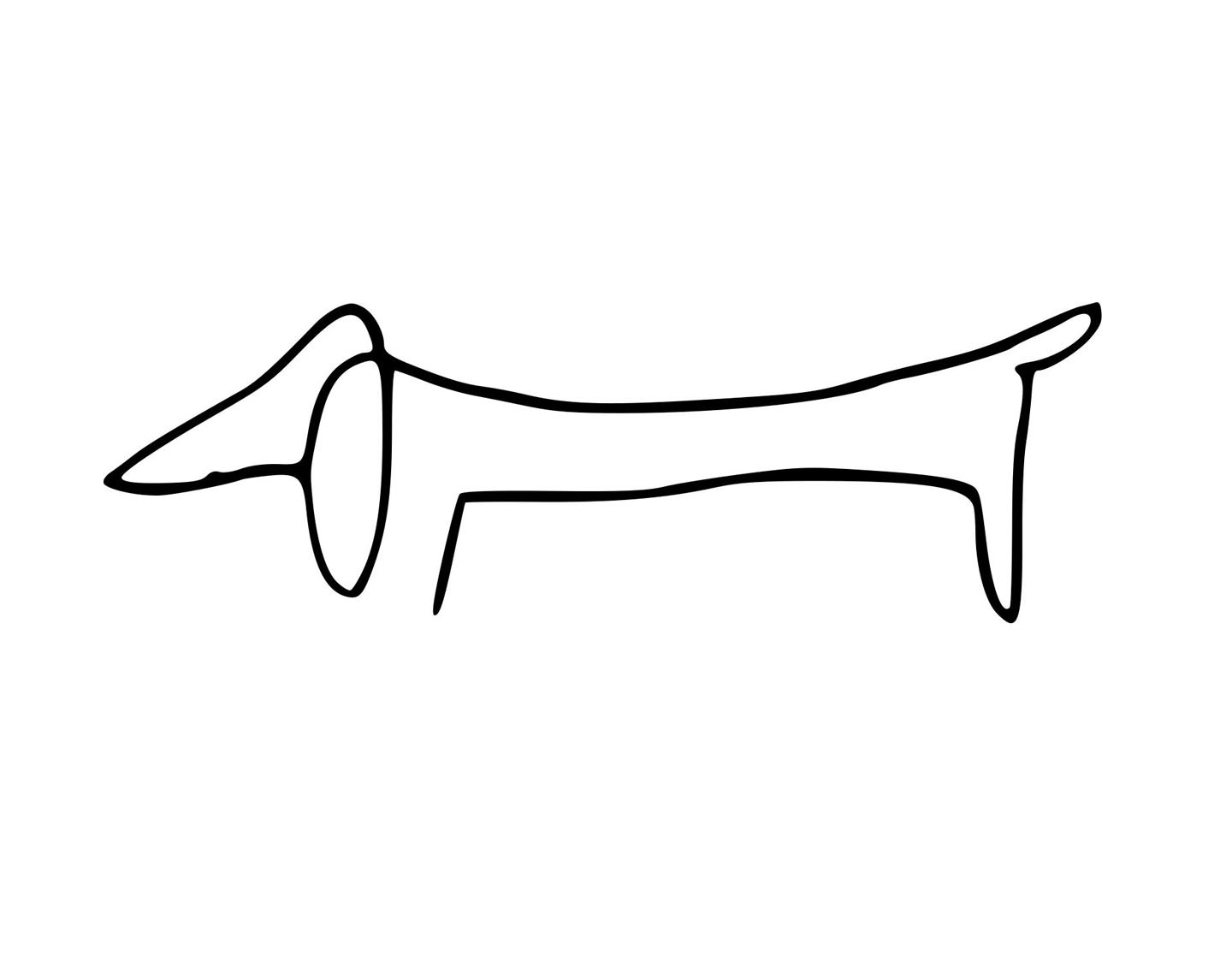 hight resolution of clip arts related to weiner dog clipart