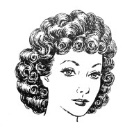 free curly cliparts