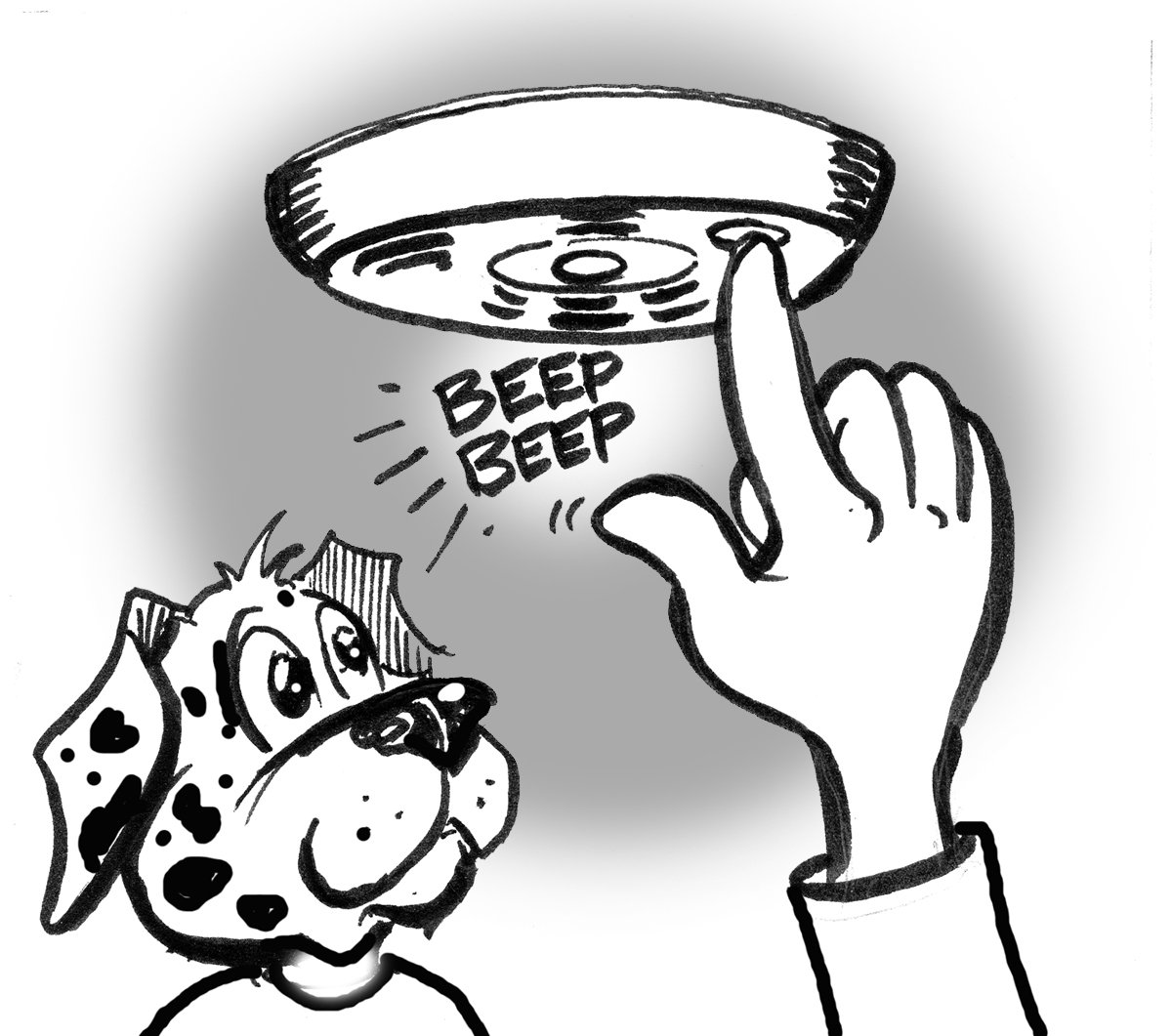 hight resolution of smoke detector clipart free