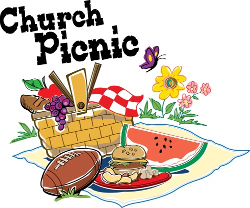 small resolution of picnic at the park clipart family