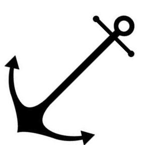 free simple anchor cliparts