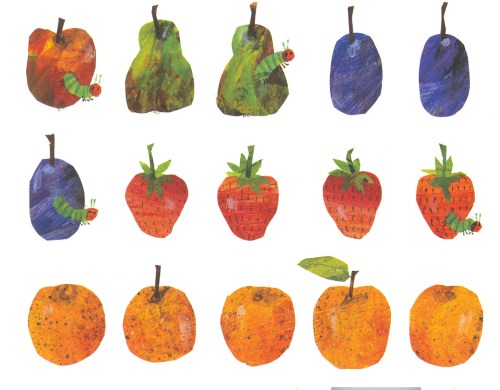 small resolution of very hungry caterpillar food clipart