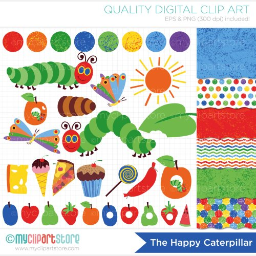 small resolution of hungry caterpillar butterfly clipart