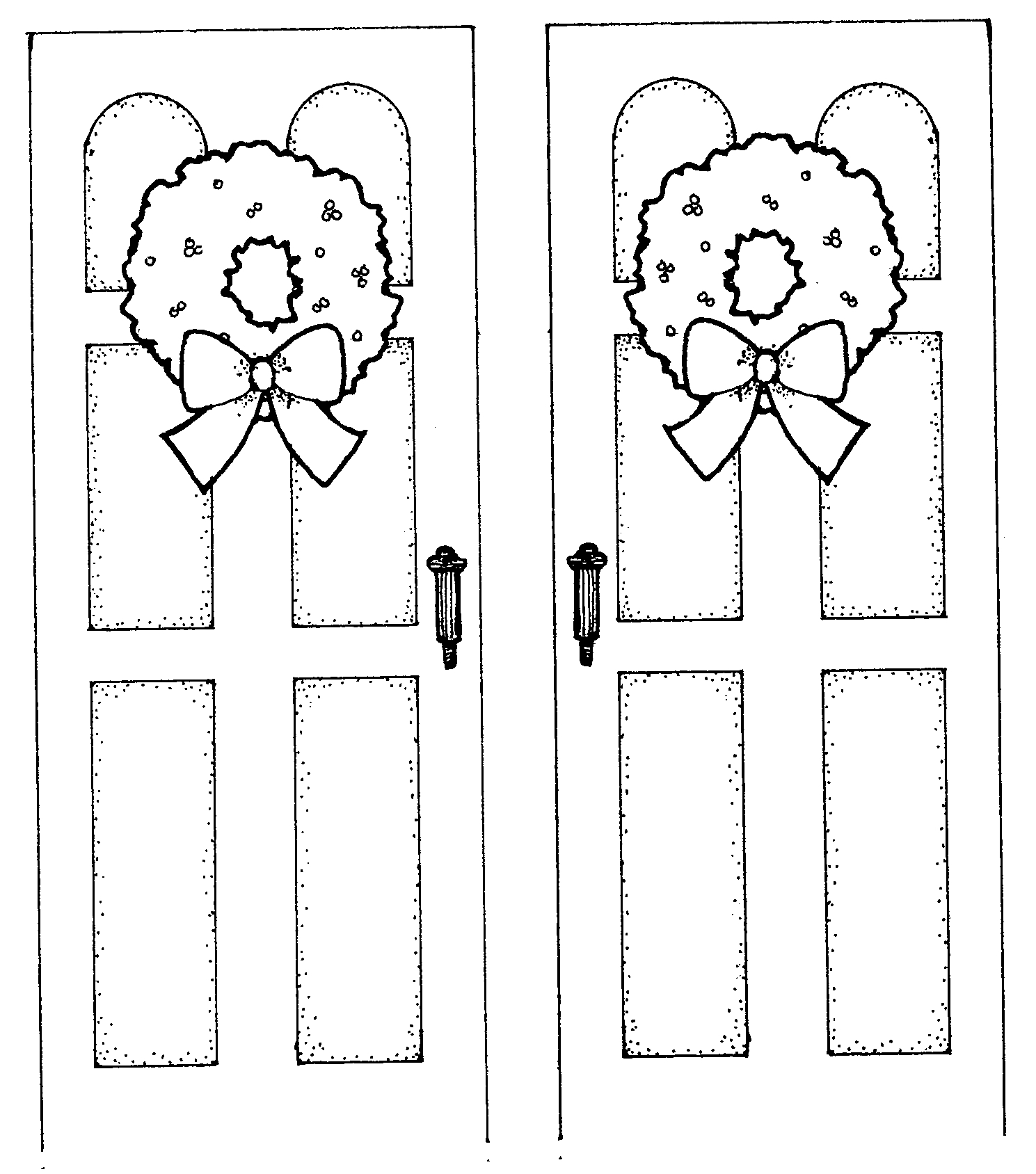 Free Christmas Door Cliparts Download Free Clip Art Free