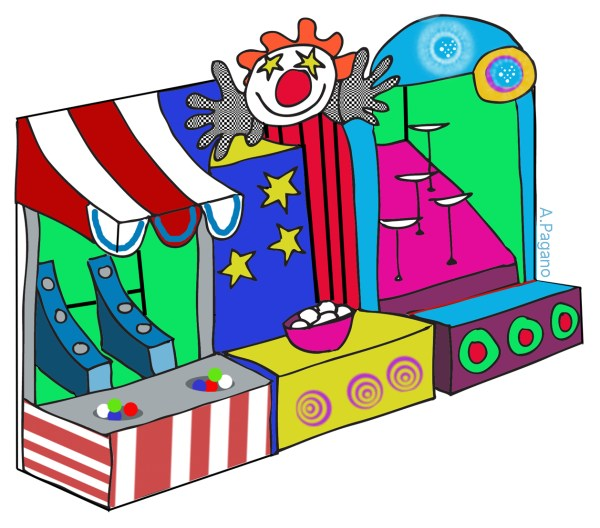 free fall carnival cliparts