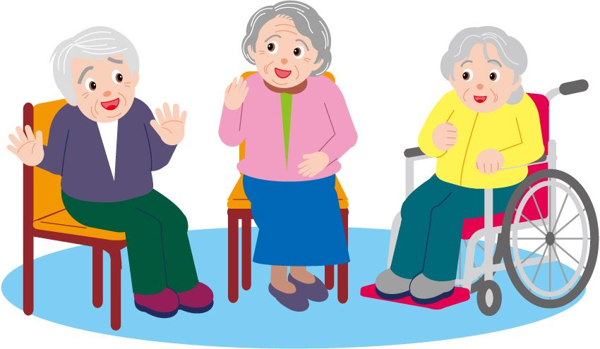 chair exercises for seniors in wheelchairs covers plymouth free elderly exercising cliparts download clip art