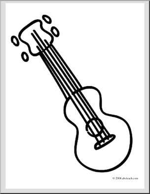 Free Ukulele Cliparts Black, Download Free Clip Art, Free