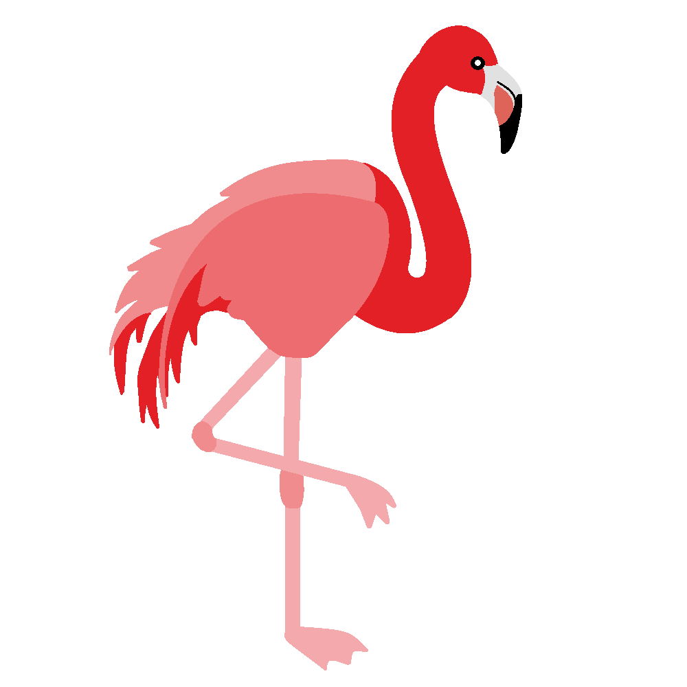 hight resolution of free clip art of a pretty pink flamingo bird free clip art by
