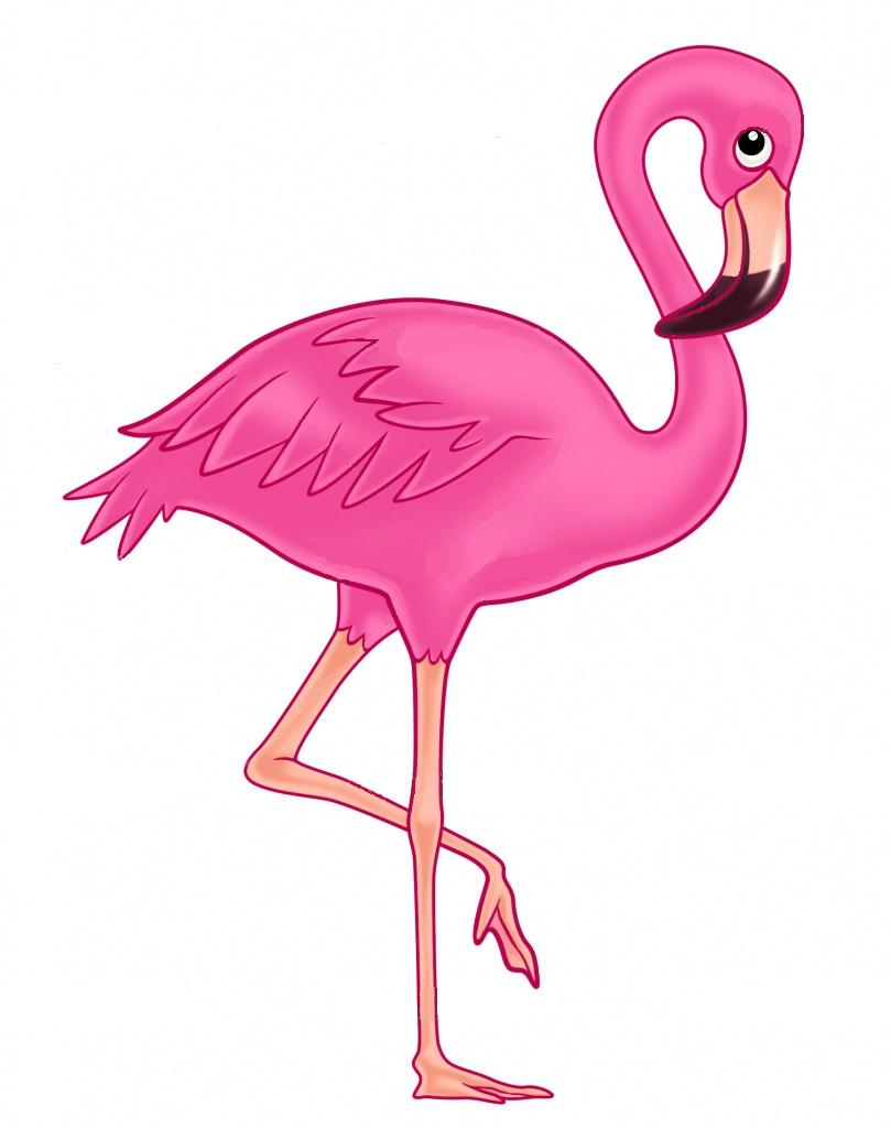 hight resolution of flamingo outline clipart