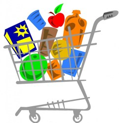 grocery clipart shopping clip cliparts cart library reference