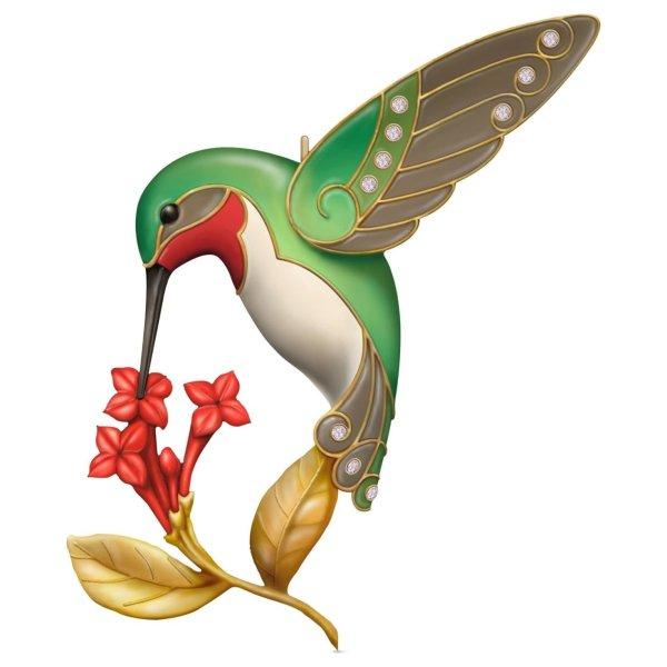 free gold hummingbird cliparts