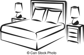 Free Bed Cartoon Black And White Download Free Clip Art Free Clip Art on Clipart Library