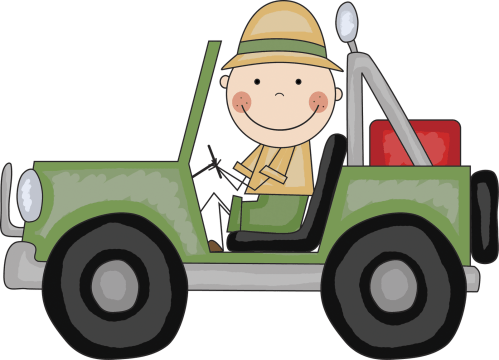 small resolution of safari jeep clipart free