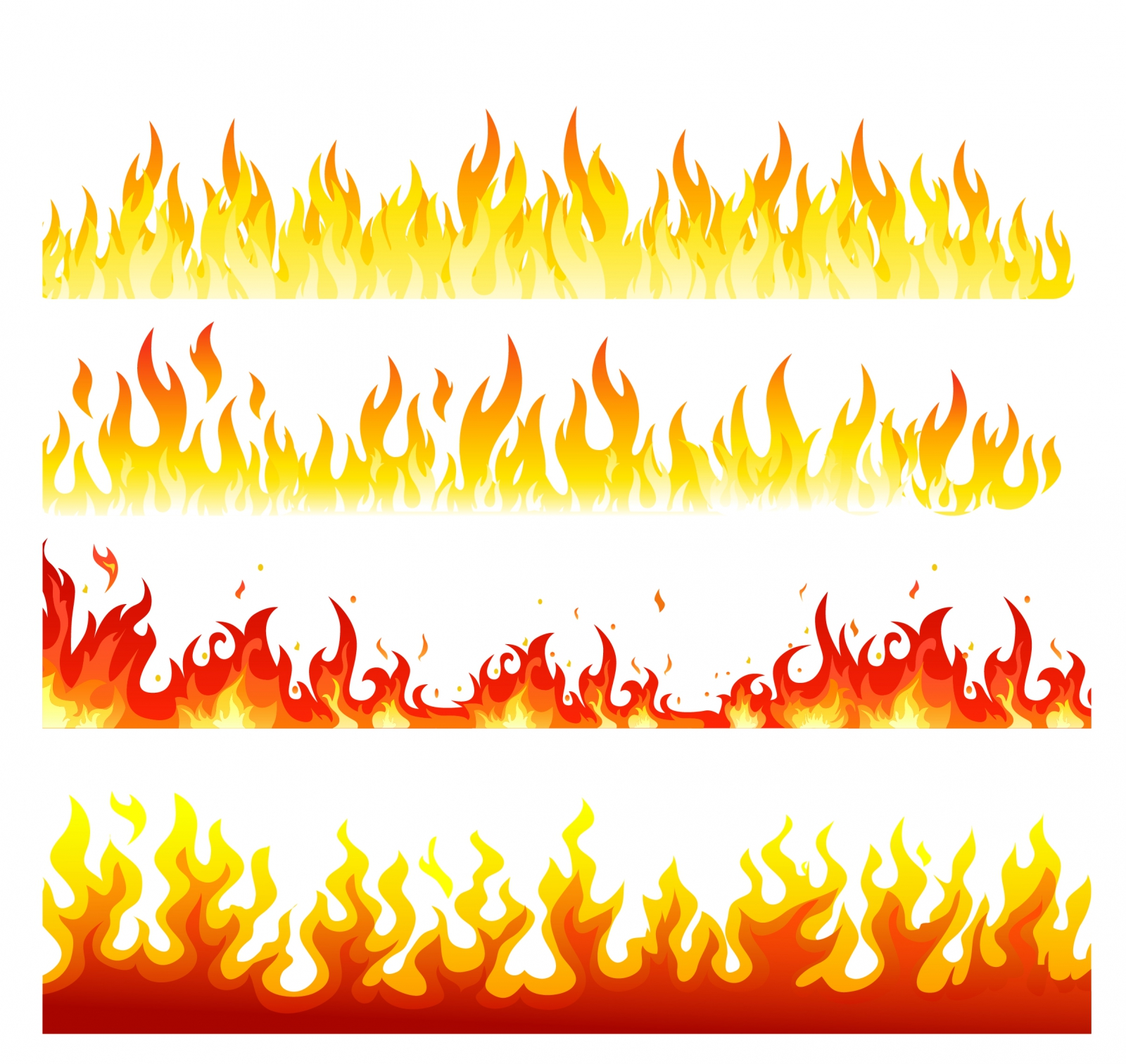 hight resolution of realistic fire flames clipart png 73224 realistic