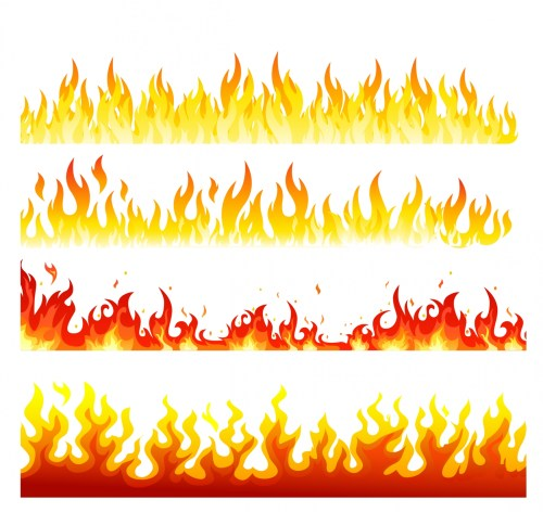 small resolution of realistic fire flames clipart png 73224 realistic