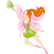 free butterfly fairy cliparts