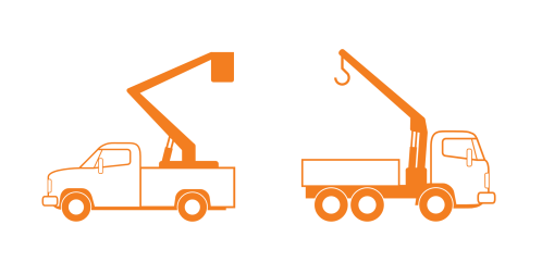 small resolution of crane truck clip art