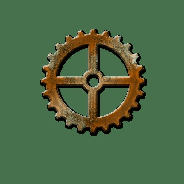 Free Steampunk Gear Cliparts Clip Art