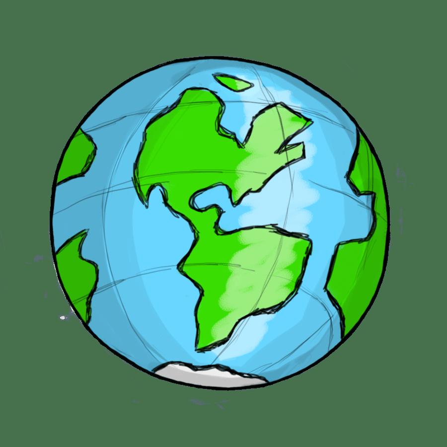 hight resolution of world