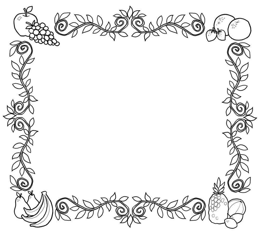 Free Fruit Borders Cliparts, Download Free Fruit Borders