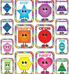 2d shapes clipart [ 2957 x 3400 Pixel ]