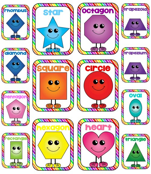 small resolution of 2d shapes clipart