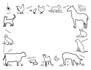 Free Animal Cliparts Border, Download Free Clip Art, Free