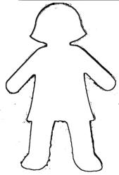 Free Black And White Outline Of A Girl Download Free Clip Art Free Clip Art on Clipart Library