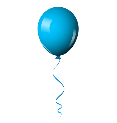 free blue balloon cliparts