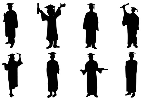 Free Silhousette Degree Cliparts, Download Free Clip Art