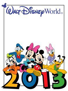 Walt Disney World Clipart : disney, world, clipart, Disney, World, Mickey, Stationery, Library
