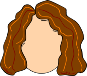 free hair girl cliparts