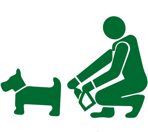 small resolution of free clipart pick up dog poop