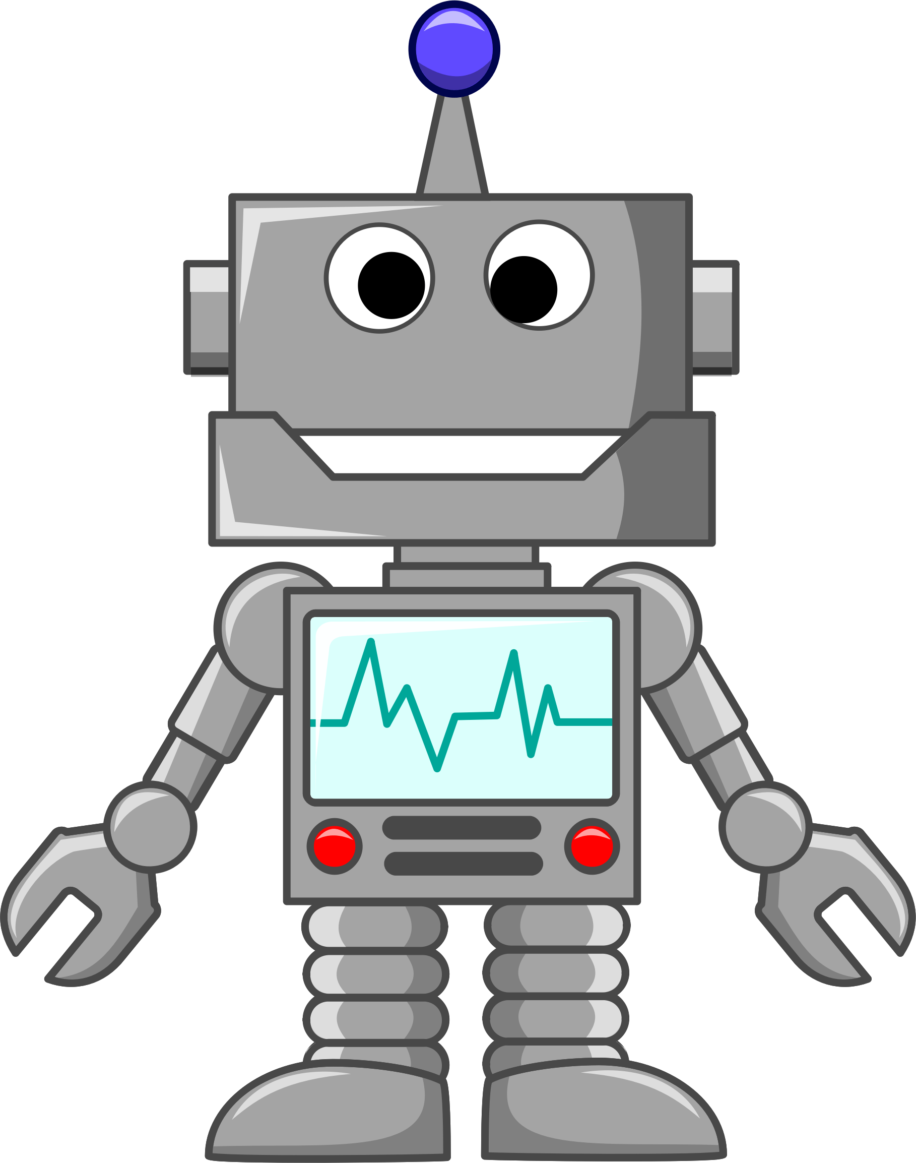 hight resolution of clipart robot pictures