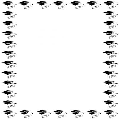 Free Graduation Cliparts Borders, Download Free Clip Art
